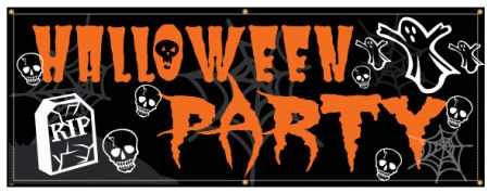 Halloween Party banner image