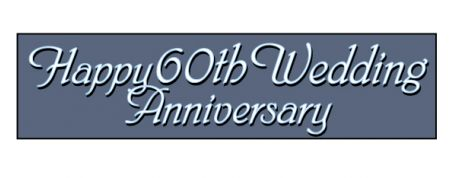 Happy 60th Wedding Anniversary image