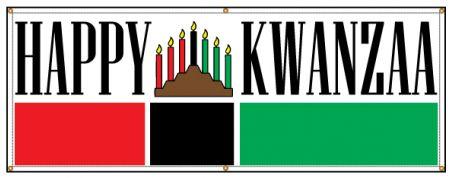HAPPY KWANZAA banner image