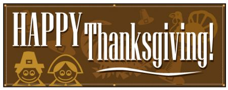 Happy Thanksgiving banner image