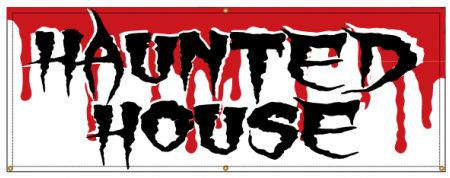 HAUNTED HOUSE banner image