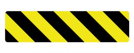 Caution stripe 2 magnetic image