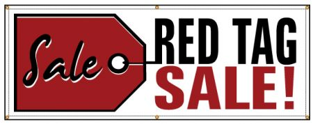 SALE Red Tag Sale banner image