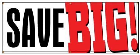 Save BIG! banner image