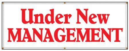 Under New Management banner image