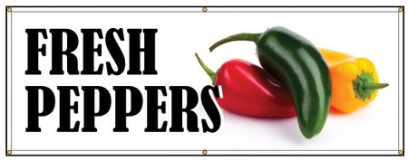 Fresh Peppers banner 2 image