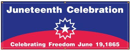 Juneteenth Celebration Freedom banner image