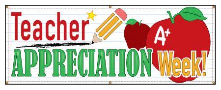 Teacher Appreciation banner image