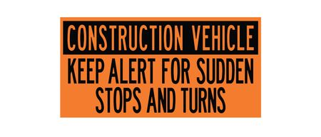 Decal Construction Vehicles 12x24 Image