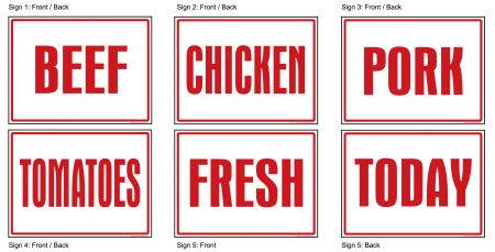 Fresh Today sign image