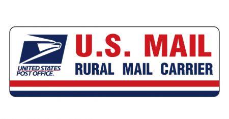 U.S. Mail Rural Carrier magnetic image