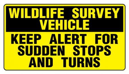Widlife Survey sign image