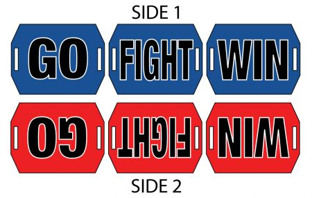Go Fight Win sign image