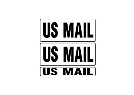US Mail 9x22 kit magnetic image