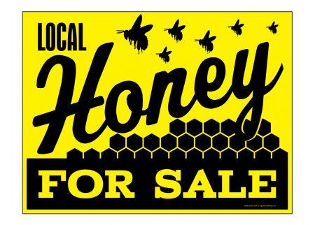 Local Honey sign image