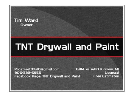 TNT Drywall and Paint sign image