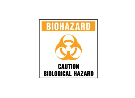 Biohazard sign image