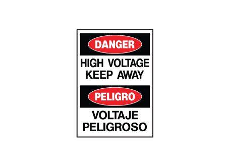 Danger High Voltage sign image