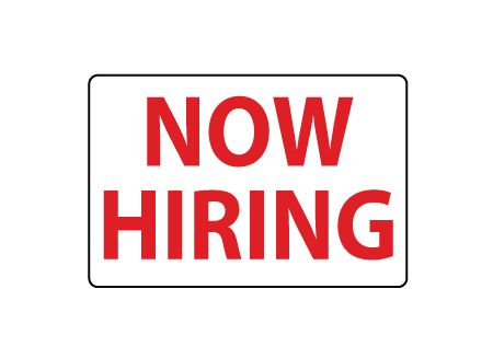 Now Hiring magnetic image