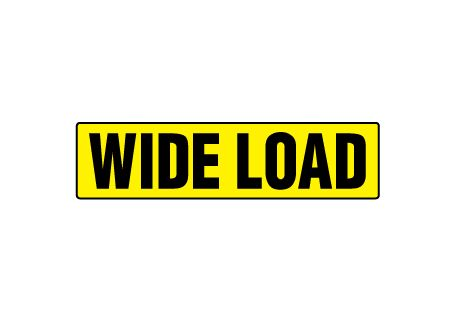 Wide load magnetic image