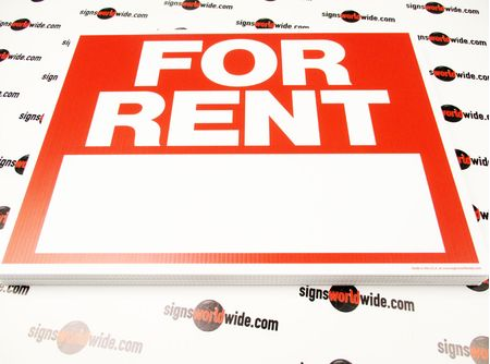 For Rent Signs in Multiple