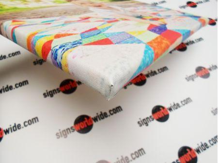 Advanced Stretch Image Wrap