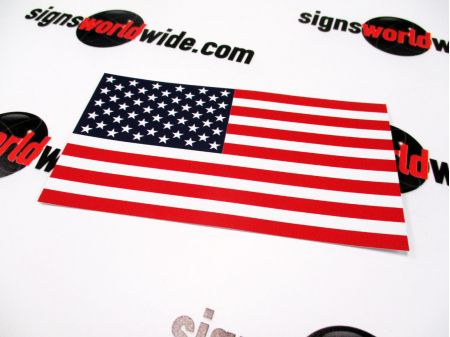 American Flag Decal image 1