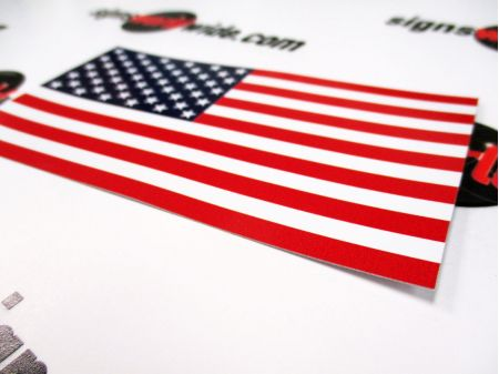 American Flag Decal image 2