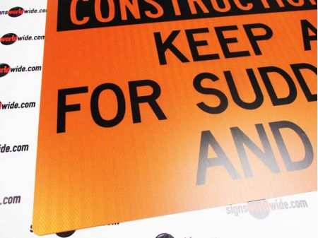 Construction Vehicle sign image