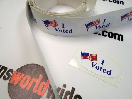 I Voted stickers group image