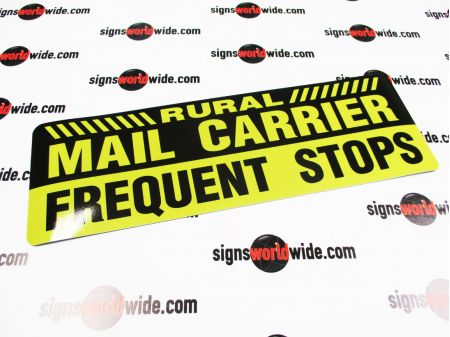 Rural Mail Carrier Magnetic sign