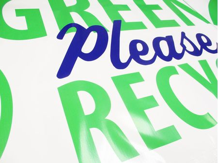 Be Green recycle banner image 3