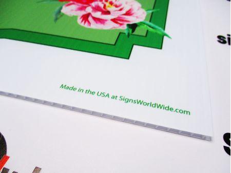 Camellia Garden Club Yard Sign Image 2