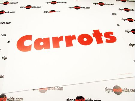 Carrots Sign image 1