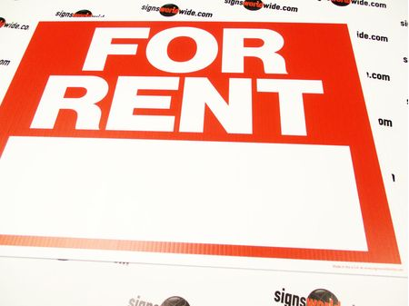 For Rent R&W Yard Sign Image 1
