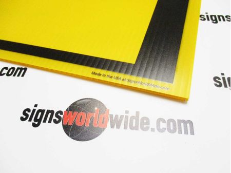For Sale Yellow Coroplast Sign Image 2