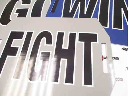 Go Fight Win Sign Image 1