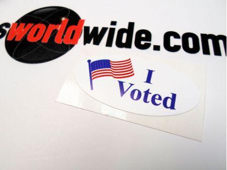 I Voted sticker image