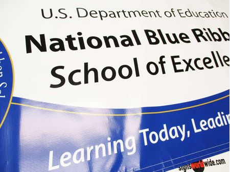 National Blue Ribbon School banner image 2