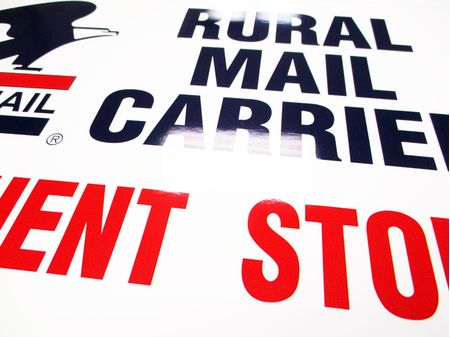 US Mail Rural Mail Carrier sign image 2