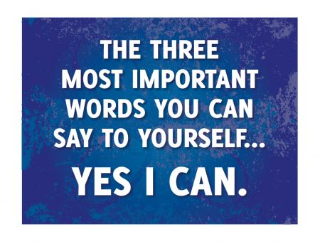 The Three Most Important Words canvas print image