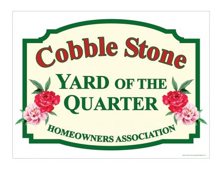 Yard of the Quarter sign image