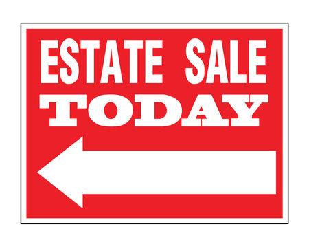 Estate Sale Directional sign image 1