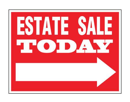 Estate Sale Directional sign image 2