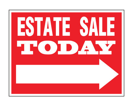 Estate Sale Directional sign image 1