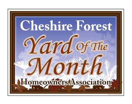 Cheshire Leaves YOTM sign image