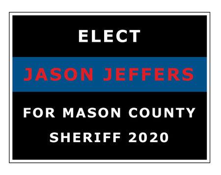 Elect Jason Jeffers sign image