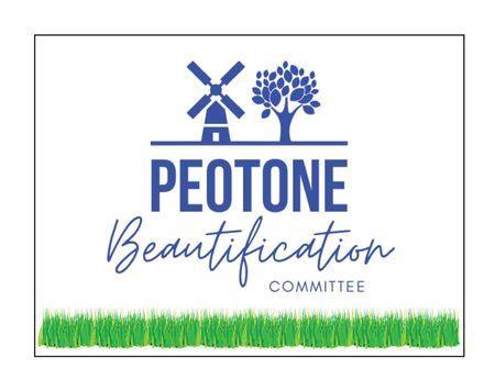 Peotone Beautification 18x24 Yard sign