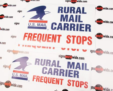 Rural Mail Carrier Sign Kit Image 2