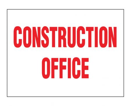 Construction Office sign image